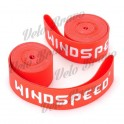 "WindSpeed Bicycle 20"" Nylon Rim Tape - Red (2 PCS)"