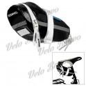 ROSWHEEL 13660-A Cycling Bicycle Saddle Glossy PU Bag - Black