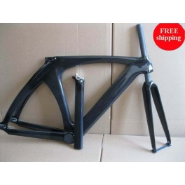 700c carbon track bicycle frame 51.5cm