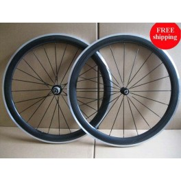 Only 1690g 25mm width, 50mm clincher wheels with aluminum brake surface