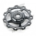 AEST Aluminum Bike 7075 11T Rear Derailleur Pulley for Shimano / Sram 7/8/9 Speed - Black